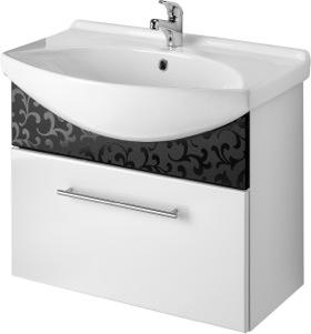 Тумба под раковину DrejaМебель для ванной комнаты<br>Тип: тумба,<br>Тип установки мебели для ванной: под раковину,<br>Материал изготовления мебели для ванной: мдф,<br>Цвет мебели для ванной: белый,<br>С ящиками: есть,<br>Коллекция: ornament<br>
