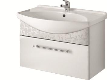 Тумба под раковину DrejaМебель для ванной комнаты<br>Тип: тумба,<br>Тип установки мебели для ванной: под раковину,<br>Материал изготовления мебели для ванной: мдф,<br>Цвет мебели для ванной: белый,<br>С ящиками: есть,<br>Коллекция: лагуна 85<br>