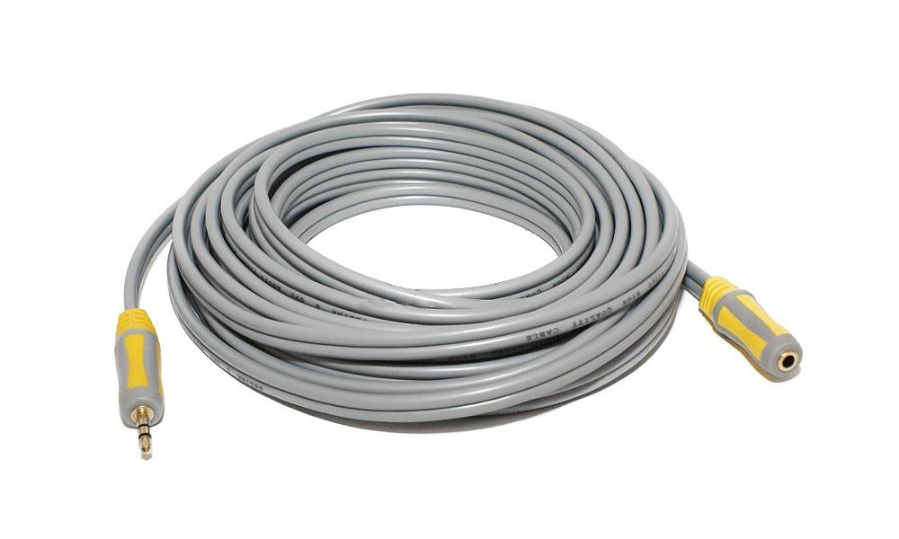 Шнур DelinkКабели и антенны<br>Тип разъемов: jack 3.5, Тип соединения: Plug/Jack, Длина кабеля: 5, Назначение: аудио, Позолоченные контакты: есть, Количество разъемов: 2, Цвет: серый<br>