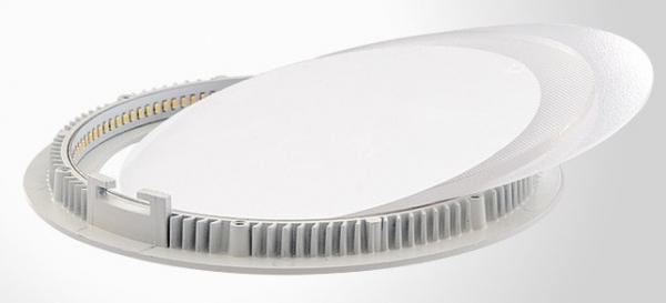 Светильник встраиваемый ОРИОН ОРИГИНАЛЬНЫЙСветильники встраиваемые<br>Стиль светильника: современный,<br>Форма светильника: круг,<br>Тип лампы: светодиодная,<br>Мощность: 24,<br>Патрон: LED,<br>Цвет арматуры: алюминий,<br>Назначение светильника: офисный,<br>Вес нетто: 0.7<br>