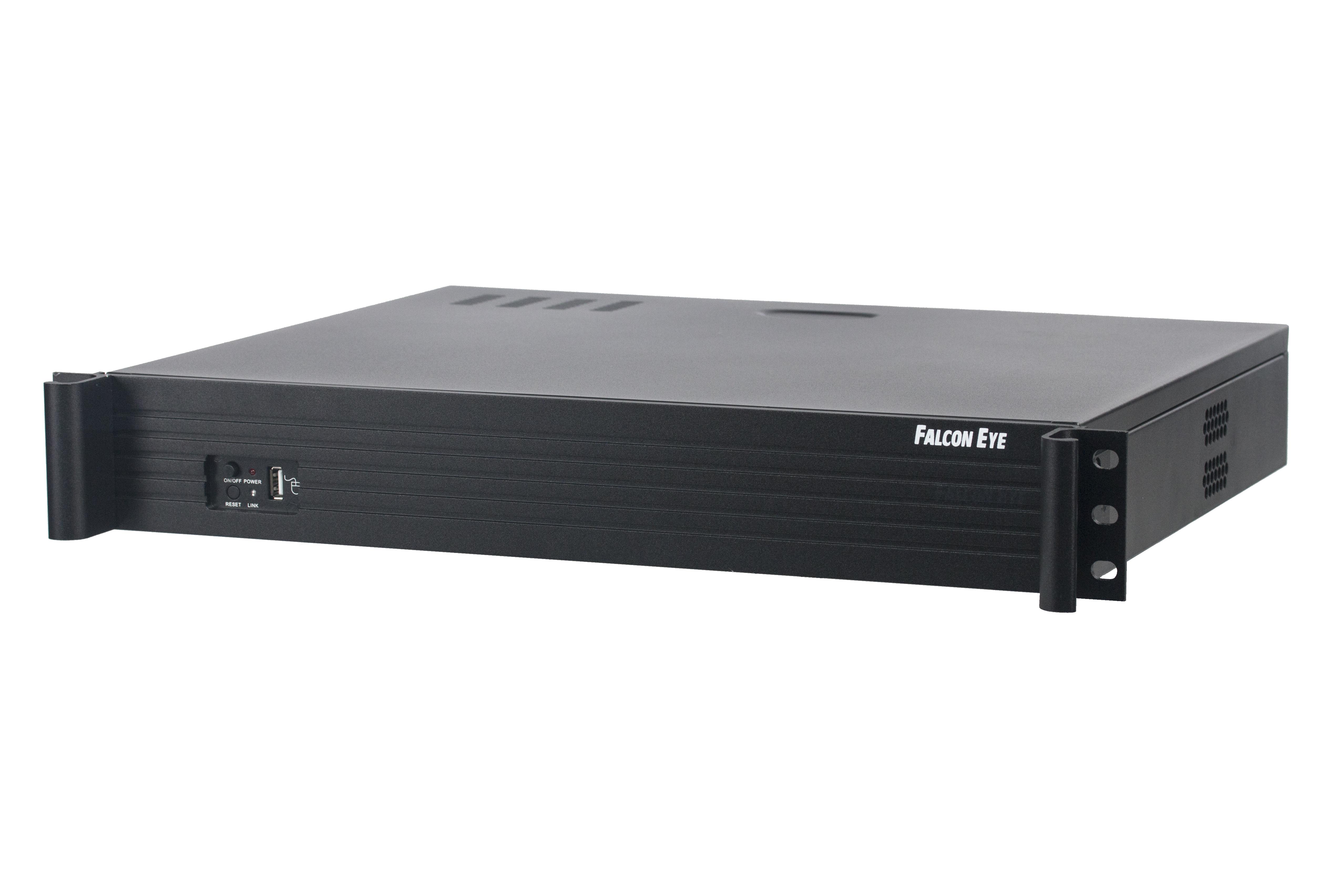 Видеорегистратор Falcon eyeАксессуары для систем видеонаблюдения<br>Назначение: видеорегистратор,<br>Тип: видеорегистратор,<br>Температура: -10C...... +55C,<br>Количество каналов: 37<br>