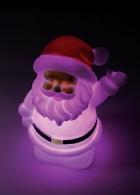 Светильник новогодний КОСМОСНовогодние светильники<br>Тип: фигурка объемная,<br>Форма фигуры: дед мороз,<br>Высота: 120,<br>Длина (мм): 70,<br>Ширина: 70,<br>Тип лампы: светодиодная,<br>Цвет подсветки: мультиколор<br>