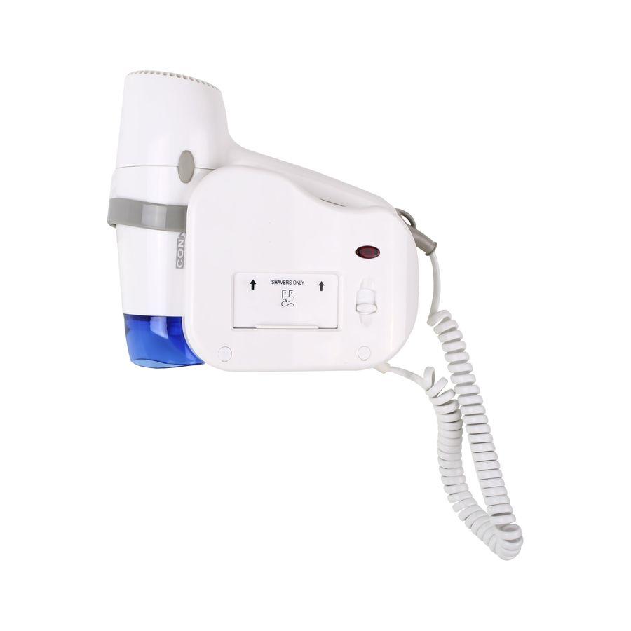 Фен настенный ConnexСушилки для рук<br>Мощность: 1200,<br>Автоматическое включение/выключение: есть,<br>Скорость потока воздуха: 12,<br>Глубина: 230,<br>Ширина: 190,<br>Высота: 115<br>