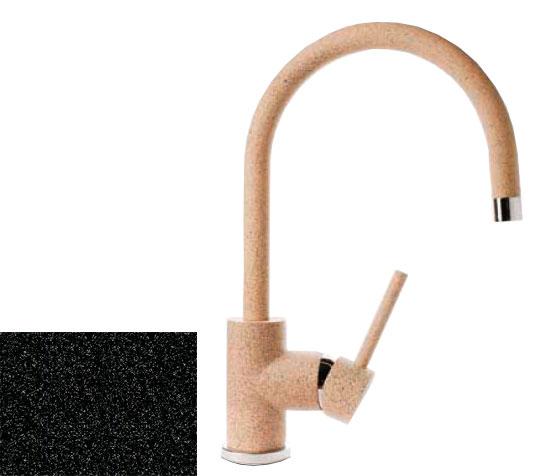Смеситель GranfestСмесители<br>Назначение смесителя: для кухонной мойки,<br>Тип управления смесителя: однорычажный,<br>Цвет покрытия: черный,<br>Стиль смесителя: модерн,<br>Монтаж смесителя: горизонтальный,<br>Тип установки смесителя: на мойку (раковину),<br>Излив: традиционный,<br>Родина бренда: Россия,<br>Тип подводки: гибкая<br>