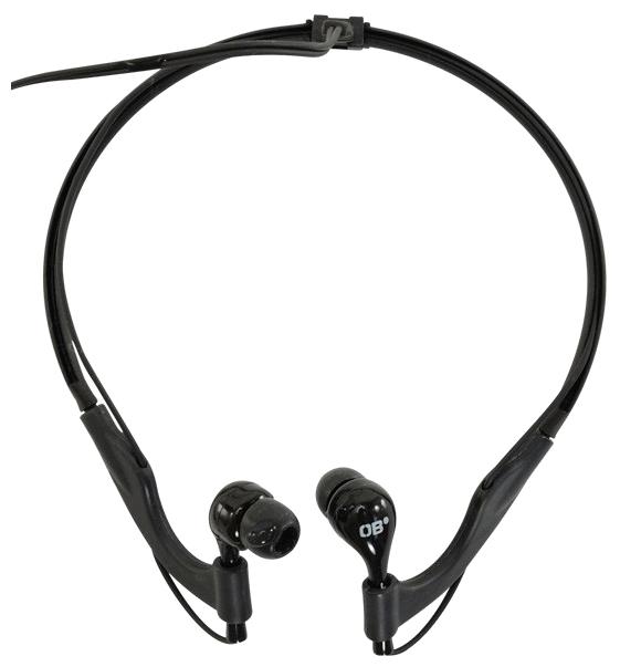 Наушники спортивные OverboardНаушники<br>Вид наушников: вкладыши,<br>Тип наушников: динамические,<br>Микрофон: нет,<br>Сопротивление: 32,<br>Чувствительность: 100,<br>Разъём наушников: mini jack 3.5 mm,<br>Подключение: с проводом,<br>Длина кабеля: 1.2<br>