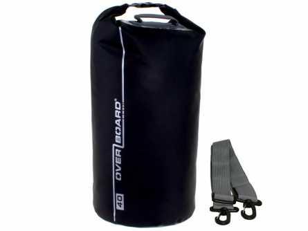 Гермомешок OverboardСумки<br>Тип изделия: гермомешок,<br>Объем: 40,<br>Форм-фактор: сумка,<br>Спортивная сумка: есть,<br>Размеры: 560х290,<br>Высота: 560,<br>Материал: ПВХ,<br>Водонепроницаемость: есть<br>