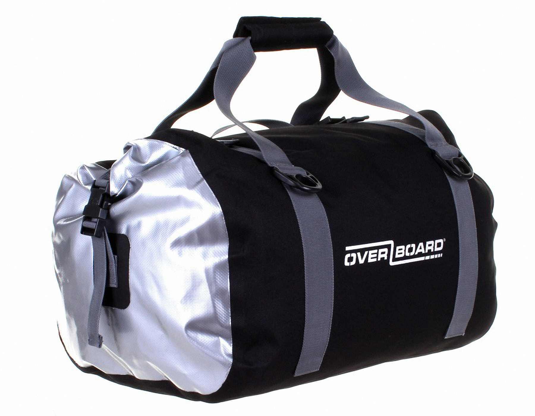 Сумка OverboardСумки<br>Тип изделия: сумка,<br>Объем: 40,<br>Форм-фактор: сумка,<br>Спортивная сумка: есть,<br>Размеры: 230х520х320,<br>Длина (мм): 520,<br>Высота: 230,<br>Материал: ПВХ,<br>Водонепроницаемость: есть<br>