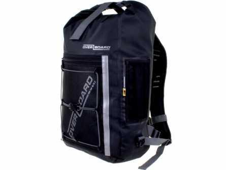 Рюкзак OverboardРюкзаки<br>Назначение рюкзака: туристический,<br>Тип конструкции: анатомический,<br>Тип: рюкзак,<br>Объем: 20,<br>Число лямок: 2,<br>Высота: 430,<br>Ширина: 240,<br>Толщина: 165,<br>Материал: ПВХ,<br>Цвет: черный,<br>Боковые карманы: есть,<br>Грудная стяжка: есть,<br>Поясной ремень: есть<br>