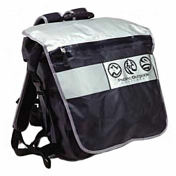 Рюкзак Pacific outdoor equipment/wxtexРюкзаки<br>Назначение рюкзака: городской,<br>Тип конструкции: мягкий,<br>Тип: рюкзак,<br>Число лямок: 2,<br>Высота: 710,<br>Ширина: 130,<br>Толщина: 360,<br>Материал: нейлон,<br>Цвет: черный/хром,<br>Фронтальный карман: есть,<br>Верхний клапан: есть<br>