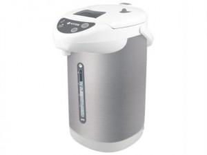 Термопот VitekЧайники и термопоты<br>Тип: термопот,<br>Мощность: 750,<br>Объем: 4,<br>Цвет: сталь,<br>Нагревательный элемент: спиральный,<br>Материал: сталь<br>