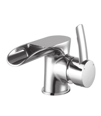 Смеситель LemarkСмесители<br>Назначение смесителя: для раковины,<br>Тип управления смесителя: однорычажный,<br>Цвет покрытия: хром,<br>Стиль смесителя: водопад,<br>Монтаж смесителя: горизонтальный,<br>Тип установки смесителя: на мойку (раковину),<br>Материал смесителя: латунь,<br>Излив: традиционный,<br>Родина бренда: Чехия<br>