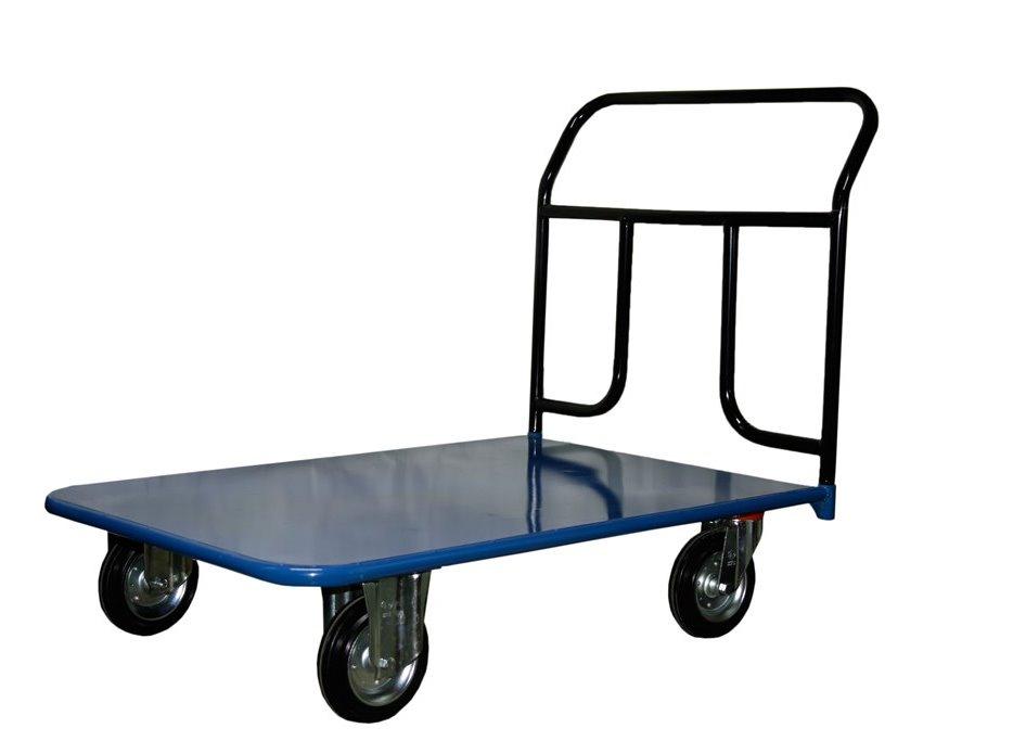 Тележка СТЕЛЛАГрузовые тележки и платформы<br>Тип тележки: платформенная,<br>Колеса: есть,<br>Количество колес: 4,<br>Материал: металл,<br>Материал колес: резина,<br>Диаметр колес, мм: 200,<br>Грузоподъемность: 550,<br>Размеры: 800х1400,<br>С листом: есть,<br>Количество ручек: 1<br>