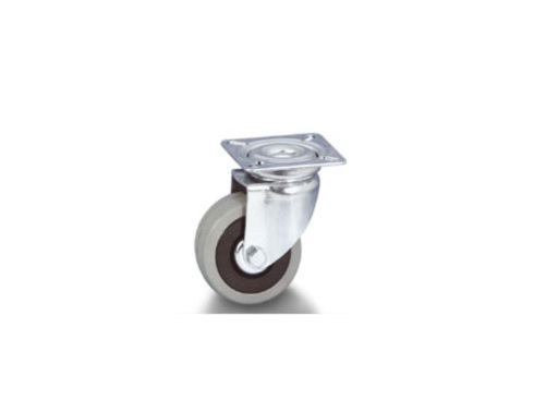 Колесо Tellure rotaПринадлежности для складского оборудования<br>Тип: колесо, Материал: резина, Диаметр колес, мм: 125, Способ крепления: под площадку, Поворот: есть<br>