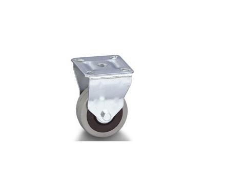 Колесо Tellure rotaПринадлежности для складского оборудования<br>Тип: колесо,<br>Материал: резина,<br>Диаметр колес, мм: 80,<br>Способ крепления: под площадку<br>