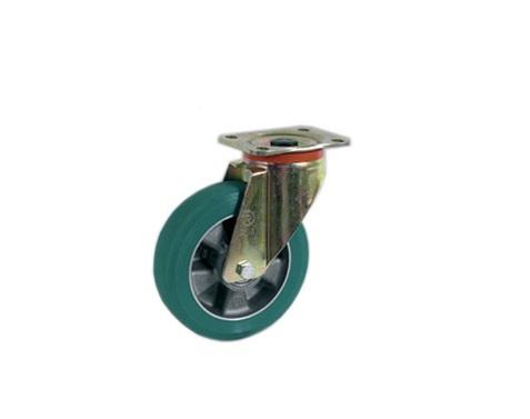 Колесо Tellure rotaПринадлежности для складского оборудования<br>Тип: колесо, Материал: полиуретан, Тип колеса: большегрузное, Диаметр колес, мм: 200, Способ крепления: под площадку, Поворот: есть<br>