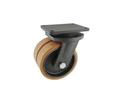 Колесо Tellure rotaПринадлежности для складского оборудования<br>Тип: колесо,<br>Материал: полиуретан,<br>Тип колеса: большегрузное,<br>Диаметр колес, мм: 300,<br>Способ крепления: под площадку,<br>Поворот: есть<br>
