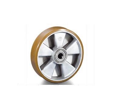 Колесо Tellure rotaПринадлежности для складского оборудования<br>Тип: колесо,<br>Материал: полиуретан,<br>Тип колеса: большегрузное,<br>Диаметр колес, мм: 200,<br>Способ крепления: под ось<br>