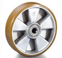 Колесо Tellure rotaПринадлежности для складского оборудования<br>Тип: колесо,<br>Материал: полиуретан,<br>Тип колеса: большегрузное,<br>Диаметр колес, мм: 125,<br>Способ крепления: под ось<br>