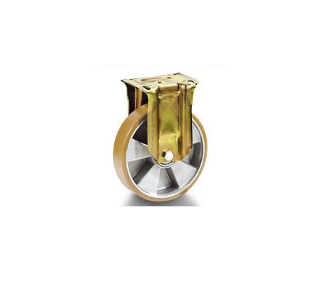 Колесо Tellure rotaПринадлежности для складского оборудования<br>Тип: колесо,<br>Материал: полиуретан,<br>Тип колеса: промышленное,<br>Диаметр колес, мм: 200,<br>Способ крепления: под площадку<br>