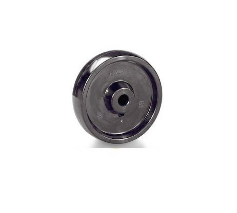 Колесо Tellure rotaПринадлежности для складского оборудования<br>Тип: колесо,<br>Материал: смола,<br>Тип колеса: промышленное,<br>Диаметр колес, мм: 100,<br>Способ крепления: под ось<br>