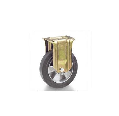 Колесо Tellure rotaПринадлежности для складского оборудования<br>Тип: колесо, Материал: резина, Тип колеса: промышленное, Диаметр колес, мм: 200, Способ крепления: под площадку<br>