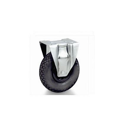 Колесо Tellure rotaПринадлежности для складского оборудования<br>Тип: колесо, Материал: резина, Тип колеса: пневматическое, Диаметр колес, мм: 260, Способ крепления: под площадку<br>