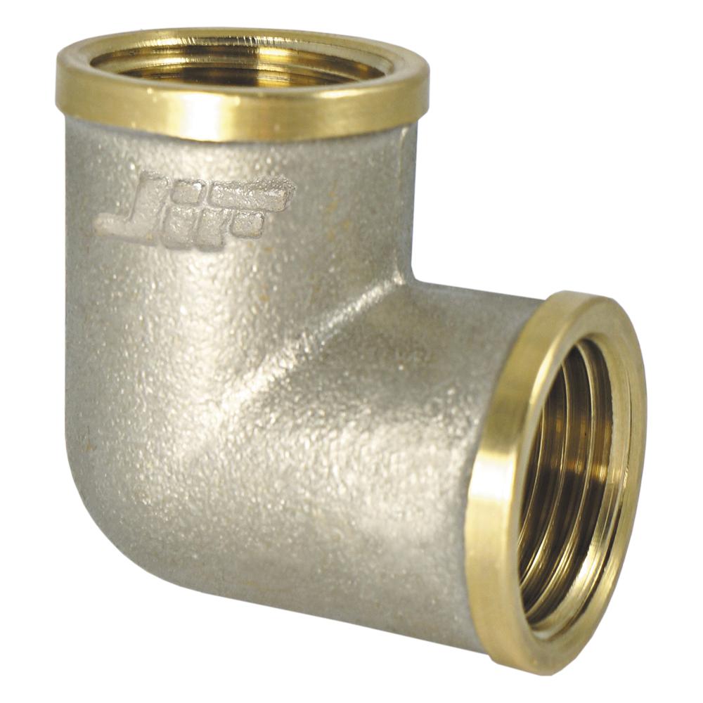 Уголок JifУголки для труб<br>Материал фитинга: латунь,<br>Тип трубного соединения: резьба,<br>Присоединительный размер: 3/4  <br>