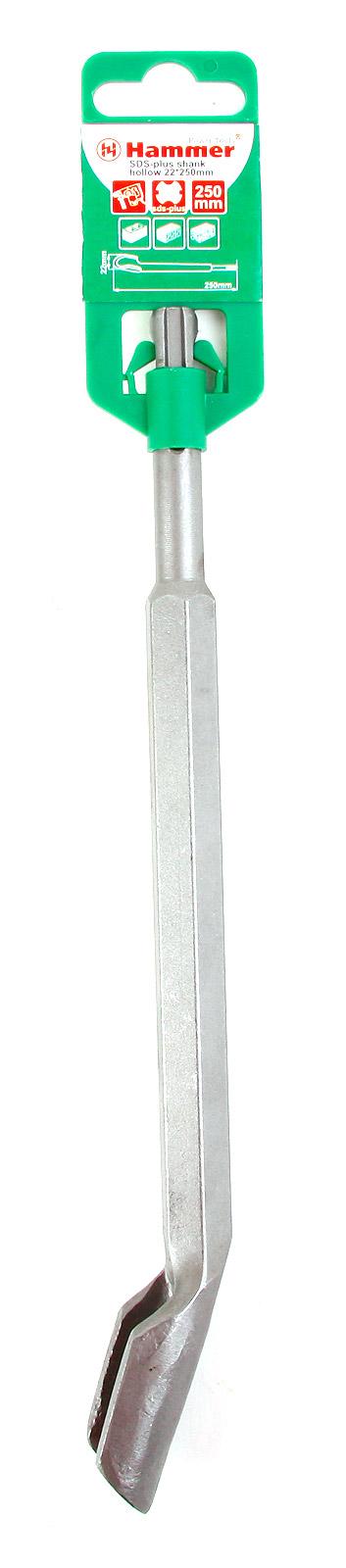 Фото 2/2 Dr ch sds-plus shank hollow 22 х 250 мм, Зубило канальное