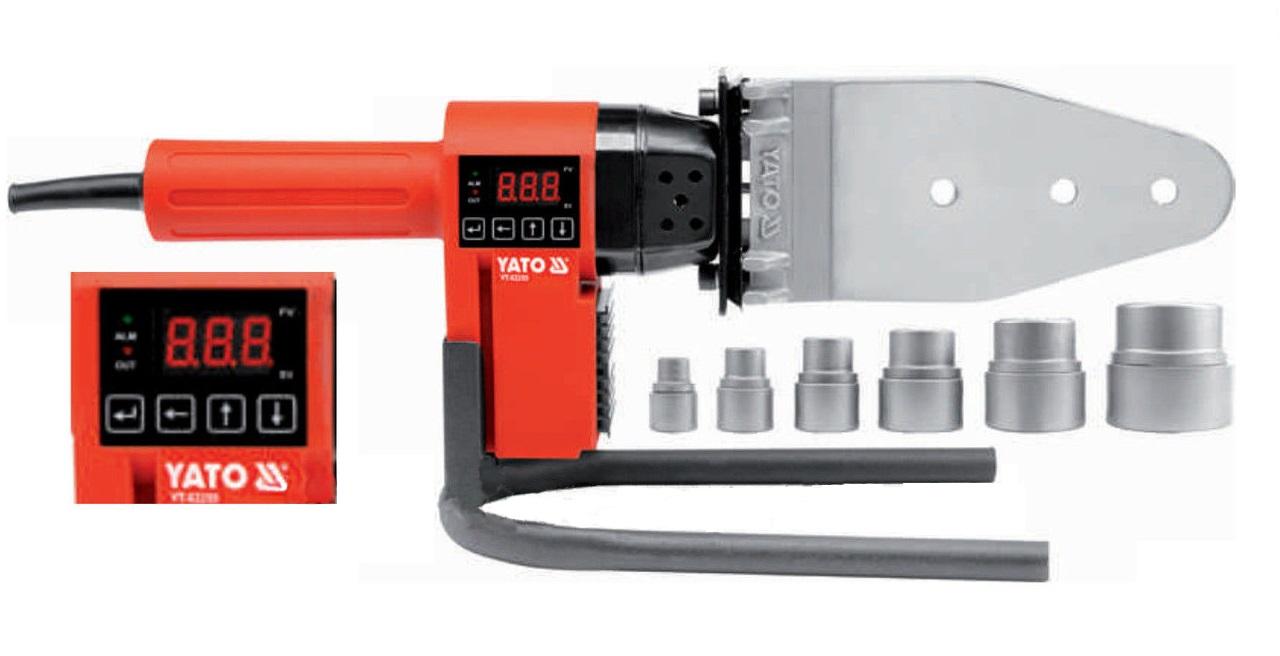 Аппарат для сварки пластиковых труб Yato