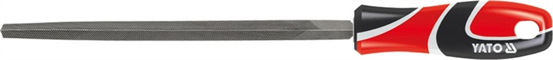 Напильник YatoНапильники<br>Материал: металл,<br>Форма напильника: трехгранный,<br>Тип напильника по насечке: личной,<br>Длина (мм): 200<br>