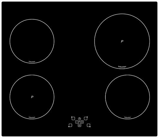 Панель варочная SimferВарочные панели<br>Способ подключения: электрическая,<br>Установка: независимая,<br>Панель конфорок: стеклокерамика,<br>Ширина: 60,<br>Глубина: 51,<br>Количество конфорок: 4,<br>Количество индукционых конфорок: 4,<br>Переключатели: сенсорные,<br>Таймер: есть,<br>Цвет: чёрный<br>