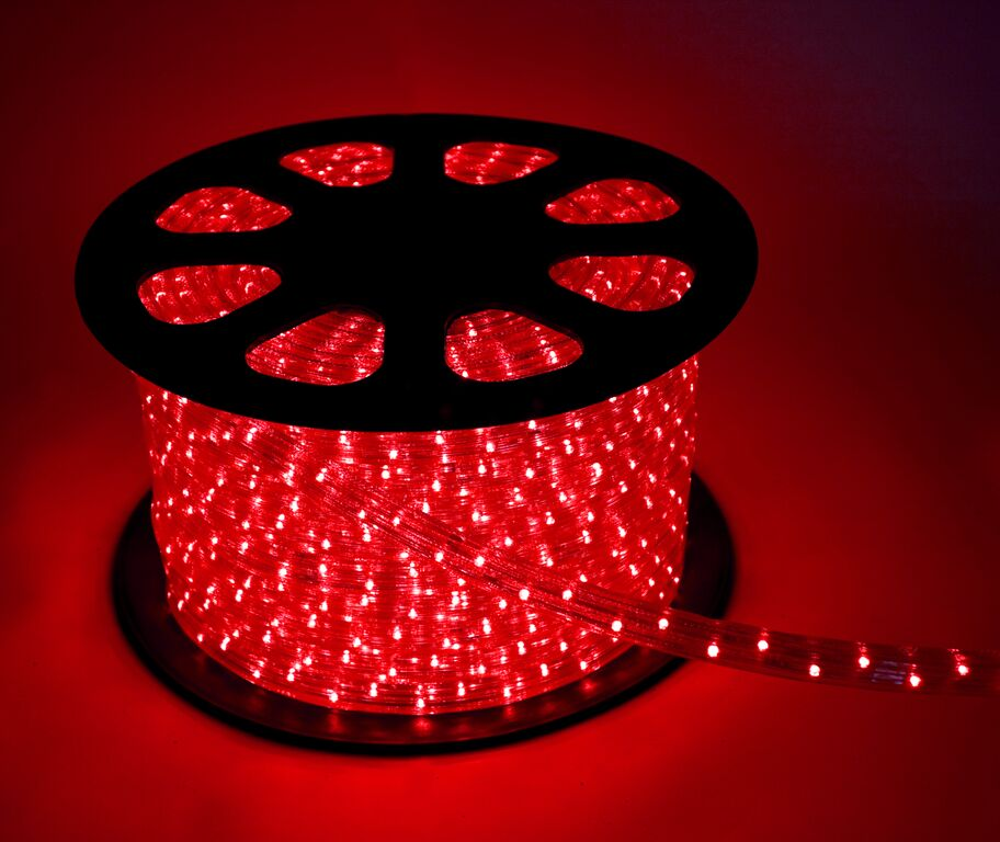 Лента светодиодная КОСМОССветодиодные ленты, дюралайт<br>Цвет: красный,<br>Длина ленты: 100000,<br>Ширина ленты: 13,<br>Назначение светильника: подсветка,<br>Материал светильника: пластик,<br>Степень защиты от пыли и влаги: IP 44,<br>Тип: лента,<br>Тип лампы: светодиодная<br>