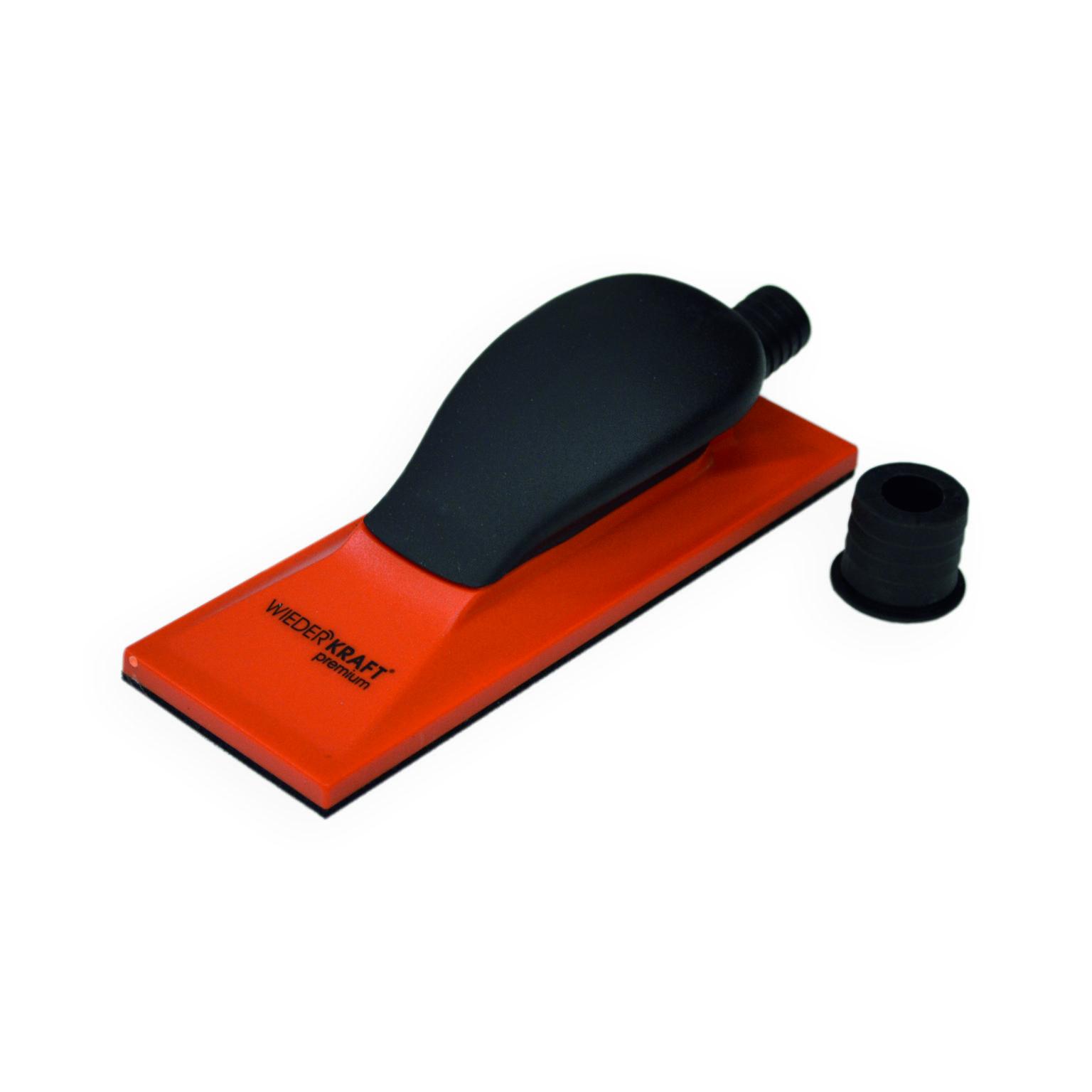 Блок шлифовальный WiederkraftОборудование для кузовного ремонта<br>Тип: блок,<br>Назначение: для работы с абразивными материалами<br>