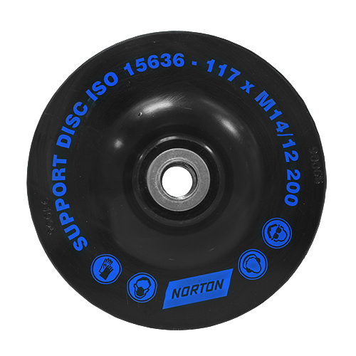 Подошва NortonПриспособления для электроинструмента<br>Тип: диск,<br>Назначение: для шлифмашины<br>