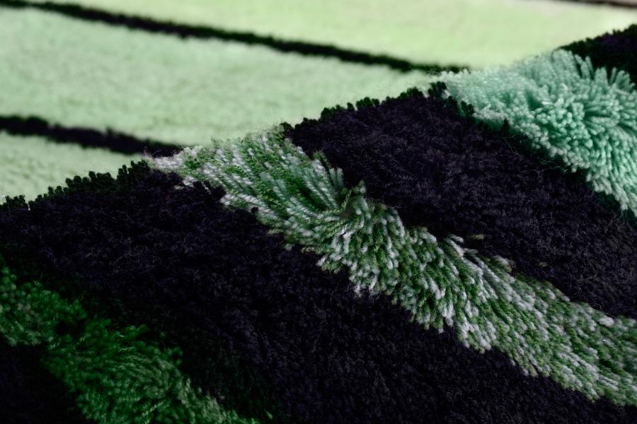 Коврик WessАксессуары для ванной комнаты<br>Назначение аксессуара: коврик для ванной, Цвет покрытия: зеленый, Материал: ткань, Высота: 700, Ширина: 700<br>