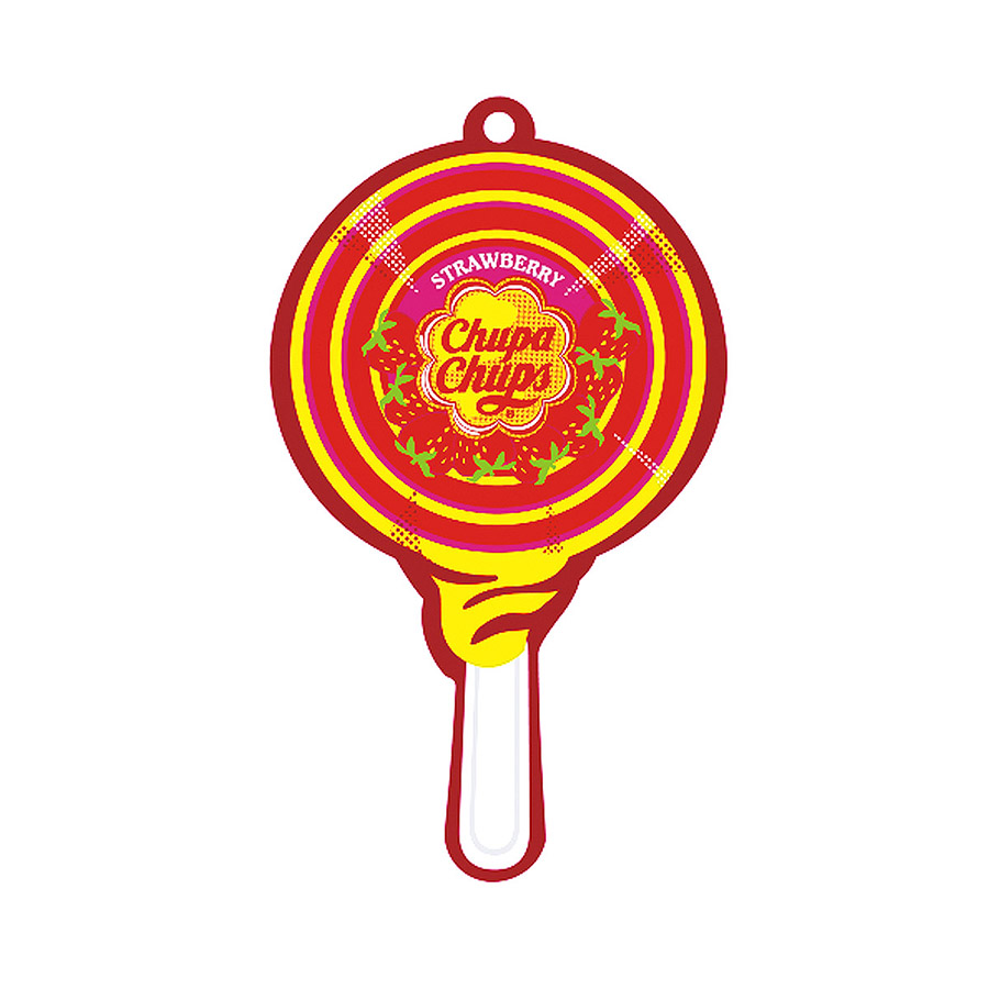 Ароматизатор Chupa chupsАроматизаторы<br>Аромат: ягоды, Тип: подвесной, Материал: жидкость<br>