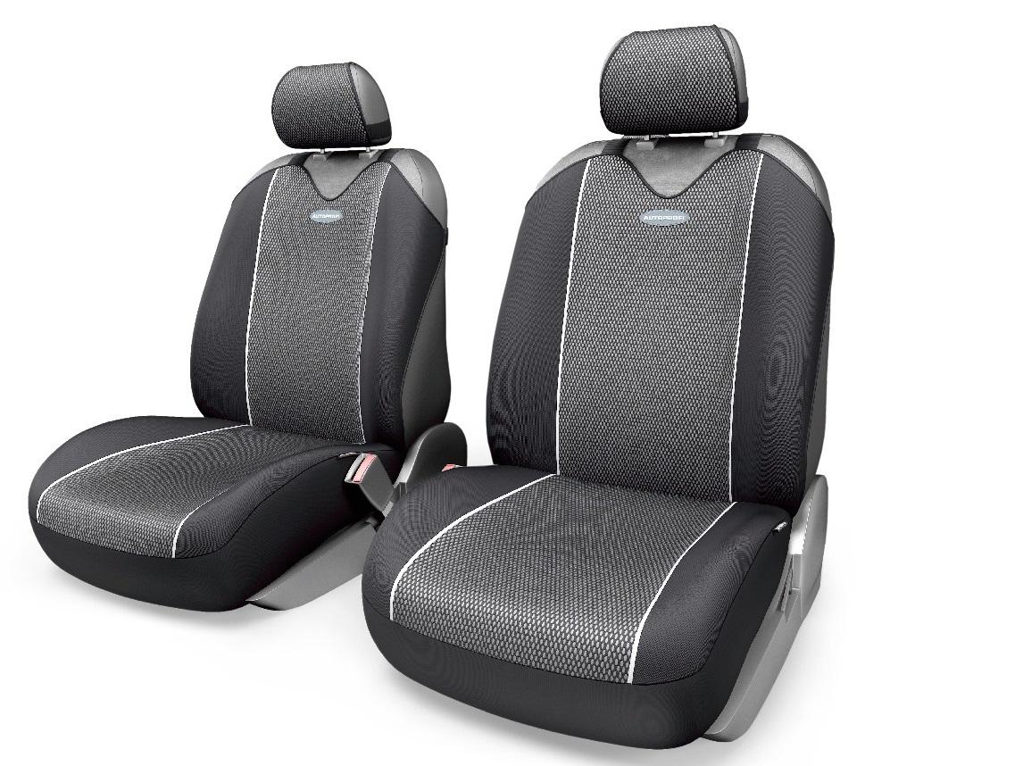 Чехол на сиденье Autoprofi Crb-402pf bk/gy