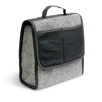 Органайзер AutoprofiАксессуары<br>Тип автоаксессуара: органайзер,<br>Назначение: в багажник,<br>Материал: ковролин,<br>Размеры: 280х130х300<br>