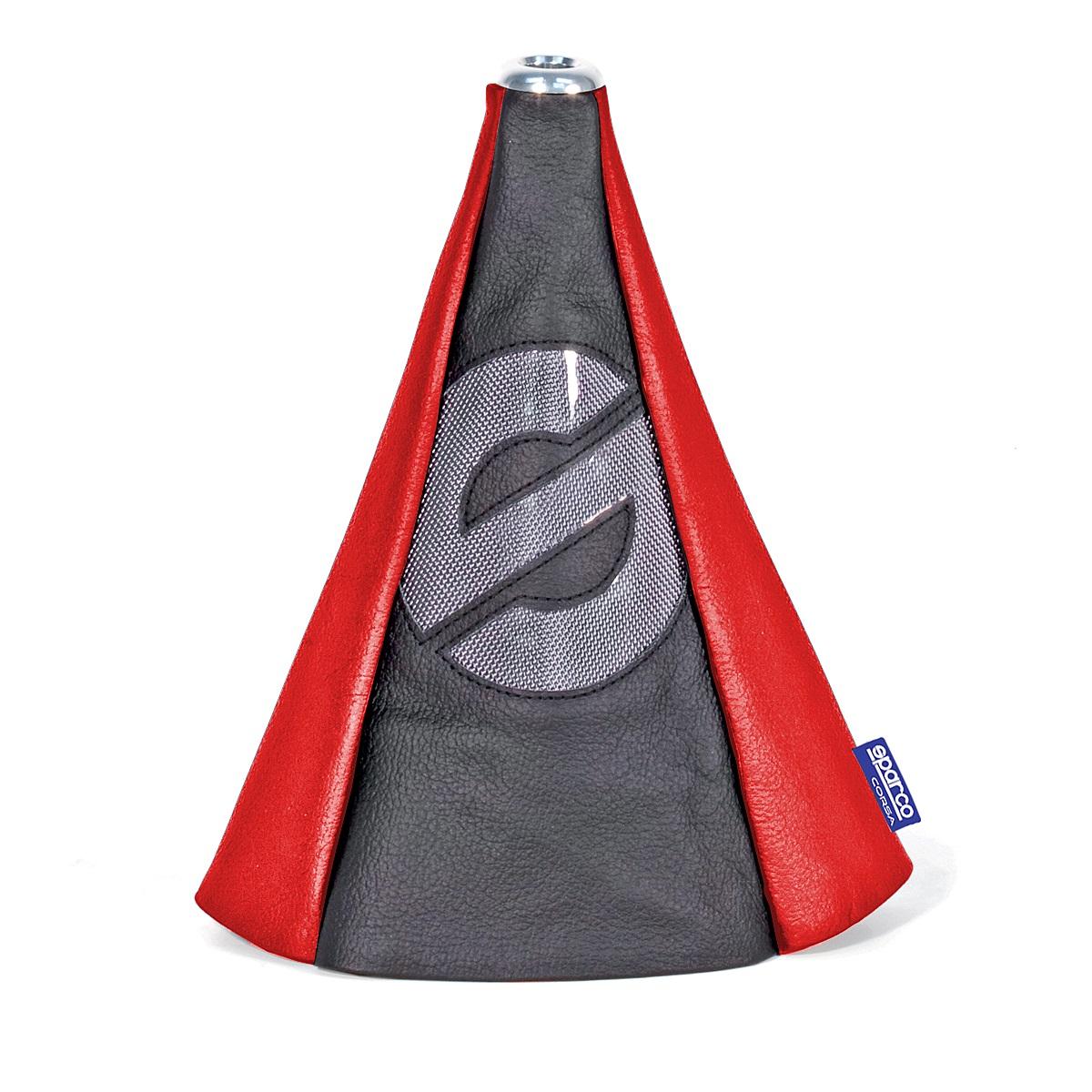 Чехол SparcoАксессуары<br>Тип автоаксессуара: тент,<br>Назначение: на рычаг механической КПП,<br>Материал: экокожа<br>