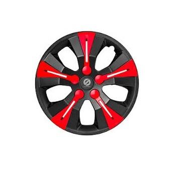 Колпаки на колёса SparcoКолпаки на колёса<br>Диаметр колес: 15,<br>Размер колес: 370,<br>Цвет: черный/красный<br>