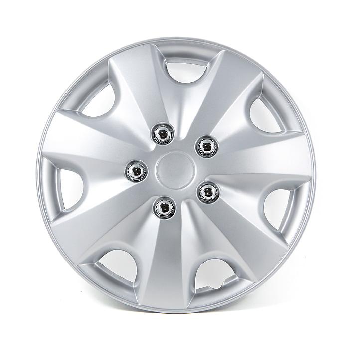 Колпаки на колёса AutoprofiКолпаки на колёса<br>Диаметр колес: 13, Размер колес: 325, Цвет: металлик<br>