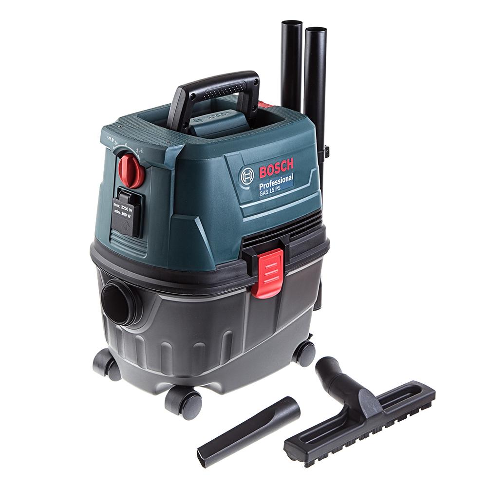 Пылесос BoschПылесосы промышленные<br>Мощность: 1100,<br>Тип: пылесос,<br>Производительность (м3/ч): 2,<br>Макс. производительность пылесоса: 33,<br>Бак: 15,<br>BOSCH Professional: есть,<br>Система очистки фильтра: есть,<br>Длина всасывающего шланга: 3,<br>Диаметр всасывающего шланга: 40,<br>Моющий: есть,<br>Функция выдувания: есть<br>