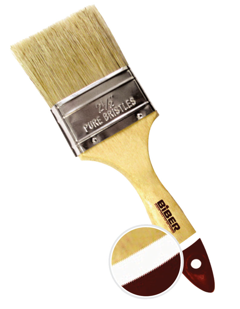 Кисть флейцевая BiberКисти малярные<br>Тип кисти: плоская,<br>Щетина: натуральная,<br>Ширина: 63,<br>Материал рукоятки: древесина<br>