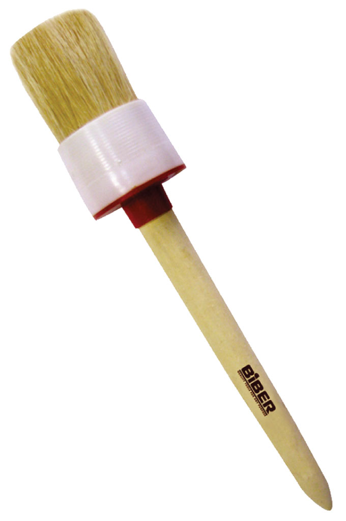 Кисть круглая BiberКисти малярные<br>Тип кисти: круглая,<br>Щетина: натуральная,<br>Материал рукоятки: древесина<br>