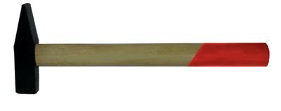 Молоток BiberМолотки ручные<br>Тип молотка: слесарный,<br>Форма бойка: квадрат,<br>Материал рукоятки: древесина<br>