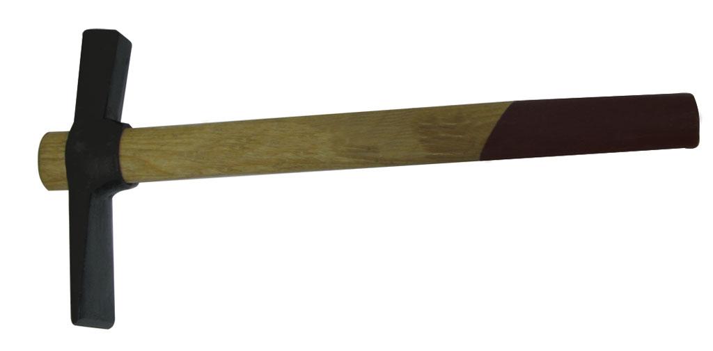 Молоток каменщика BiberМолотки ручные<br>Тип молотка: каменщика,<br>Форма бойка: прямоугольник,<br>Материал рукоятки: древесина<br>