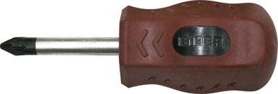 Отвертка BiberОтвертки<br>Тип наконечника: PZ (крест усиленн.),<br>Тип отвертки: стандартная,<br>Намагниченный наконечник: есть,<br>Длина (мм): 38,<br>Тип рукоятки: прямая<br>