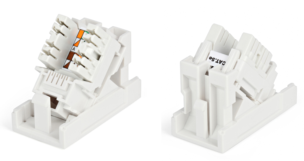 Розетка HyperlineАксессуары для серверного оборудования<br>Тип: розетка,<br>Материал: пластик,<br>Размер: 36.44х45x22.5<br>