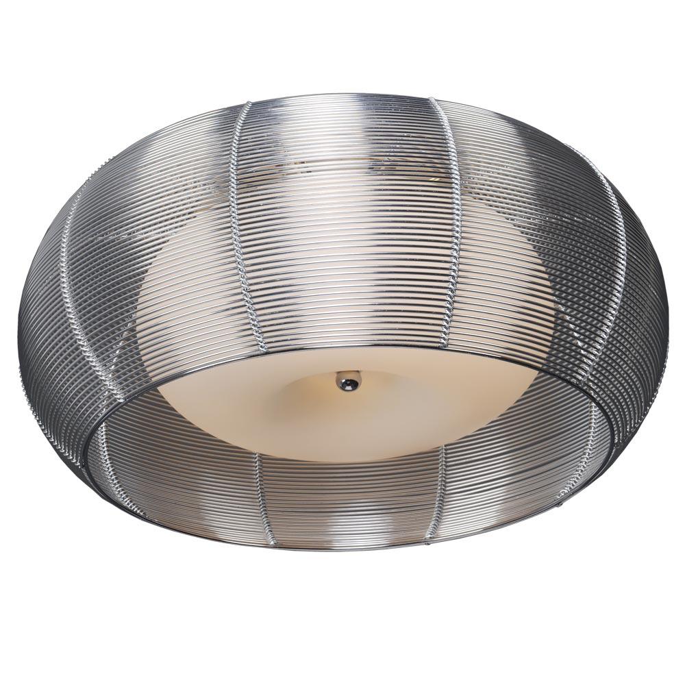 Люстра МАКСИСВЕТЛюстры<br>Назначение светильника: для гостиной,<br>Стиль светильника: современный,<br>Тип: потолочная,<br>Материал плафона: стекло,<br>Материал арматуры: металл,<br>Диаметр: 420,<br>Высота: 195,<br>Количество ламп: 2,<br>Тип лампы: накаливания,<br>Мощность: 40,<br>Патрон: Е27,<br>Цвет арматуры: хром,<br>Коллекция: 4791<br>