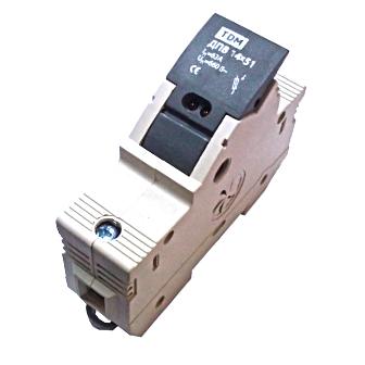 Держатель плавких вставок ТДМАвтоматические выключатели<br>Тип выключателя: держатель плавких вставок, Количество полюсов: 3, Количество модулей: 3<br>